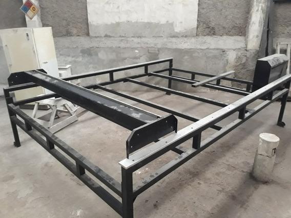 Base Para Cnc Router, Estructura, Rolineras Y Cadenas