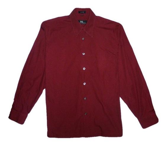 Camisa Manga Larga Vino Tino Unicolor. Aceptamos Pago Movil