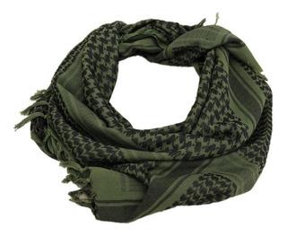 Bufanda Militar Arabe Shemagh Verde Tactica