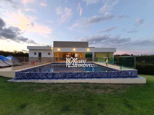 Casa Com 7 Dormitórios À Venda, 811 M² Por R$ 6.500.000,00 - Condomínio Terras De São José Ii - Itu/sp - Ca2227