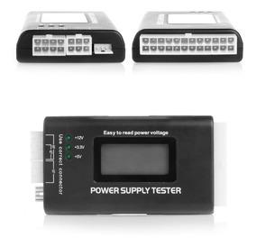 2 Testador De Fonte De Alimentação Do Computador Lcd Digital