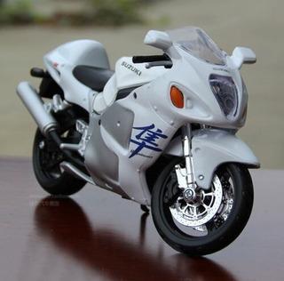 Miniatura Moto Suzuki Gsx Coleção Maisto 1/18