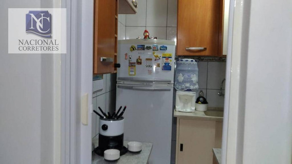 Apartamento Com 2 Dormitórios À Venda, 50 M² Por R$ 180.000,00 - Parque Das Nações - Santo André/sp - Ap7466