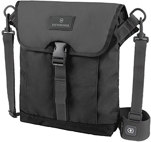 Victorinox Luggage Almont 3.0 Flapover Digital Bag, Black,
