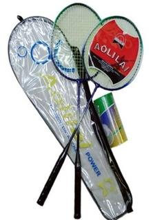 Set De Badminton Con Plumas Esparcimiento Entrenamiento