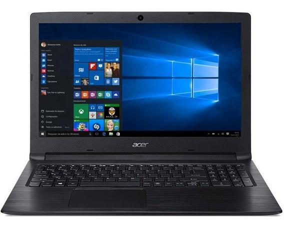 Notebook Pentium 4417u 4gb 500hd W10 A315 53 P884 Acer