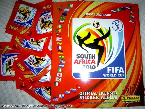 Lote Com 276 Figurinhas Copa Mundo África 2010 Não Repetidas