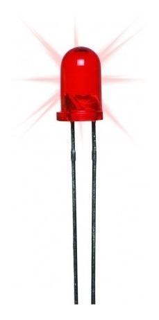 Diodo De Led Rojo 3.5mm 10 Unidades
