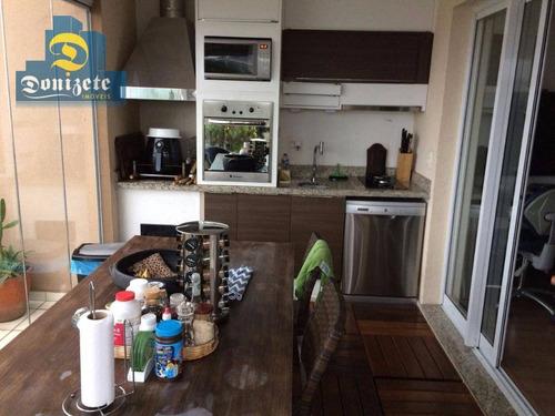Cobertura Com 2 Dormitórios À Venda, 163 M² Por R$ 1.289.000,00 - Campestre - Santo André/sp - Co1303