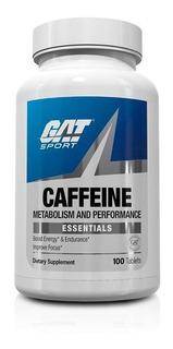 Gat Sport Caffeine 200mg 100 Tabletas Cafeina Pura