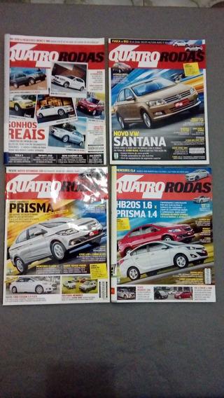 Revista Quatro 4 Rodas Ano 2013 - Coleção Completa