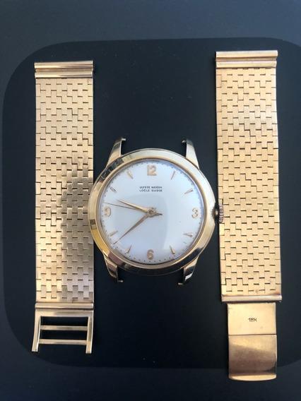 Relógio De Ouro Maciço Ulysse Nardin