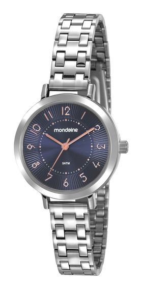Relógio Feminino Mondaine Visor Azul 53864l0mvne2
