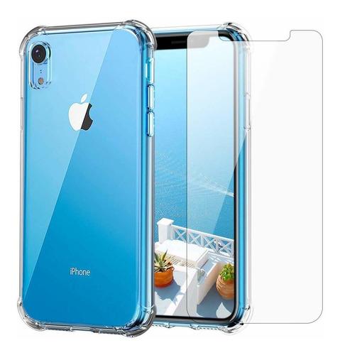 Funda Transparente Para iPhone XR Y Protector De Pantalla |