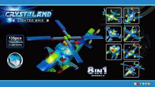 Helicoptero 8 En 1 Bigtoys Cod1921 Para Armar
