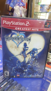 Kingdom Hearts Para Ps2 Americano Original