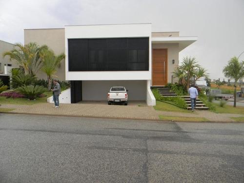 Casa Com 4 Dormitórios À Venda, 362 M² Por R$ 2.700.000 - Condomínio Alphaville I - Sorocaba/sp, Próximo Ao Shopping Iguatemi E Colégio Objetivo. - Ca0037 - 67640067