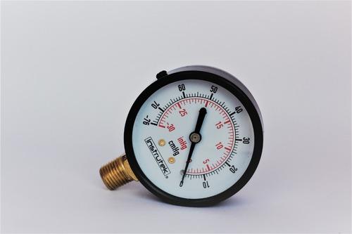 Imagen 1 de 1 de Vacuometro Ordeñadora/empacadora Alto Vacío/inyectora