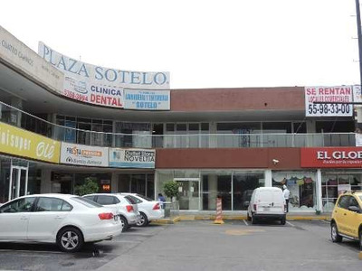 Local Comercial Disponible Para Renta, Plaza Sotelo, Cdmx.