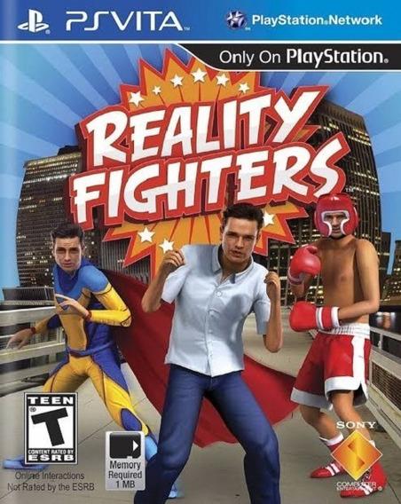 Lacrado Reality Fighters Ps Vita Jogo Novo Luta Realidade