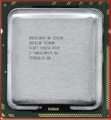Intel Xeon E5530 8m 2.40ghz 5.86 Dl320 Dl380 Bl460c G6 R710