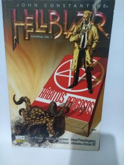 Hellblazer Infernal 1 E 2 ( Primeira Edição)