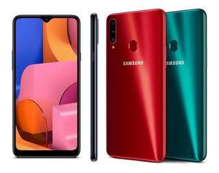 Samsung A20s 3gb/32gb +forro 165 Ver Des Somos Tienda