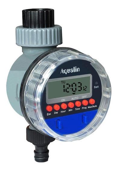 Irrigador Automático Temporizador Hortas E Jardins Aqualin