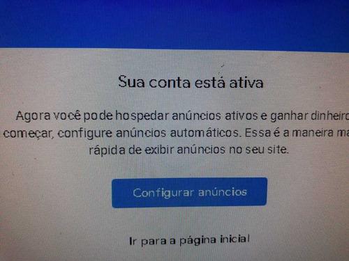 Site Blog Pronto Com Adsense Ativo