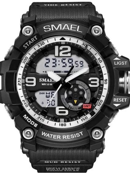 Relógio Smael Preto Frete Gratis (sl1617-10-2)