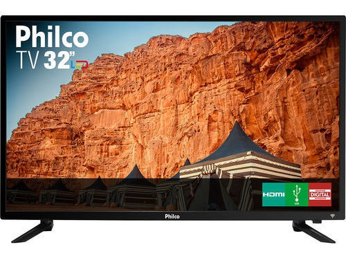 Tv Led 32 Philco Ptv32c30d Hd Com Conversor Digital 2 Hdmi