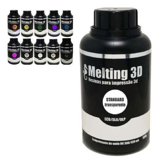 Resina 500g Melting 3d Uv 405nm Elegoo Anet Anycubic Photon