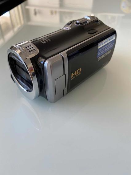 Câmera Filmadora Samsung Hd Hmx-f90 + Bateria + Sd16gb