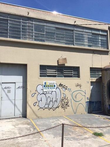 Galpão À Venda, 645 M² Por R$ 2.200.000,00 - Vila Das Mercês - São Paulo/sp - Ga0008