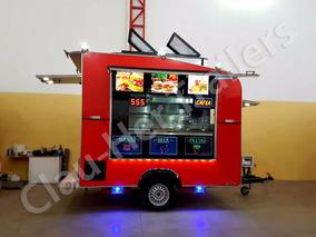 Trailer Lanchonete Equipado / Food Trailer Equipado