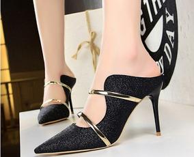 f66803fe75 Salto 15 Cm Branco Casamento - Sapatos Preto no Mercado Livre Brasil