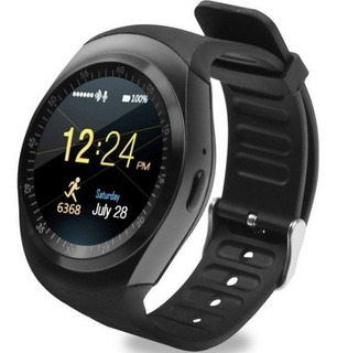 Relógio Y1 Bluetooth Smartwatch Gear Chip iPhone E Android
