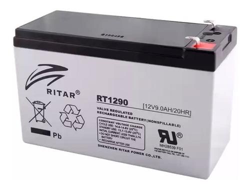 Bateria 12v 9ah Recargable P/ups, Alarma Ritar Rt-1290