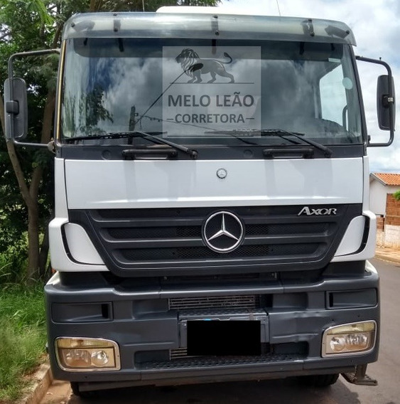 Mb Axor 3340 - 05/06 - Cavalo Truck, Cabininha, Reduzido