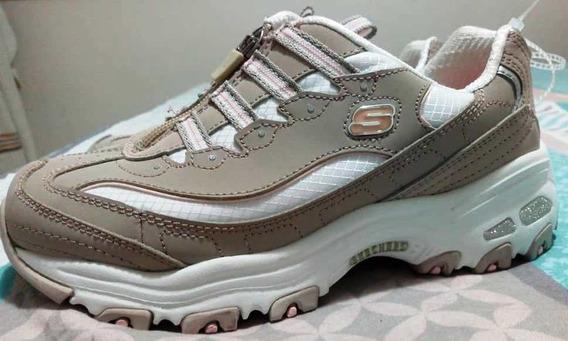 Excelentes Zapatos Skechers Dama Talla 36