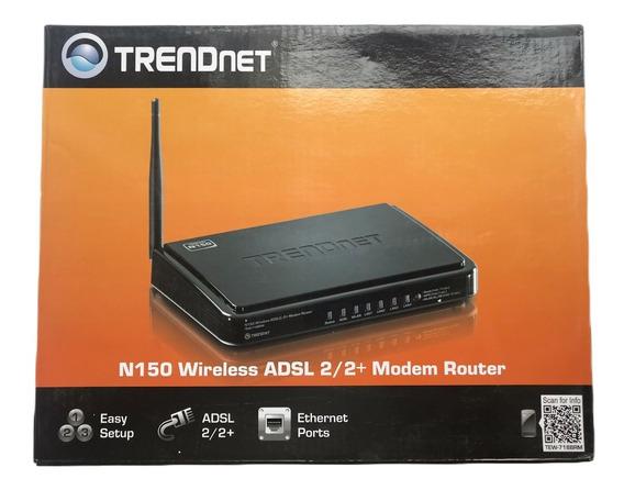 Modem Router Trendnet N150 Adsl2/2+