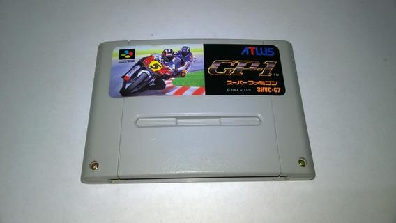 Jogo Moto Gp-1 Original Para Super Nintendo Snes