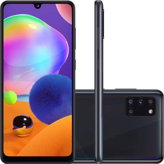 Smartphone Samsung Galaxy A31 128gb Câmera 48mp, Preto A315g