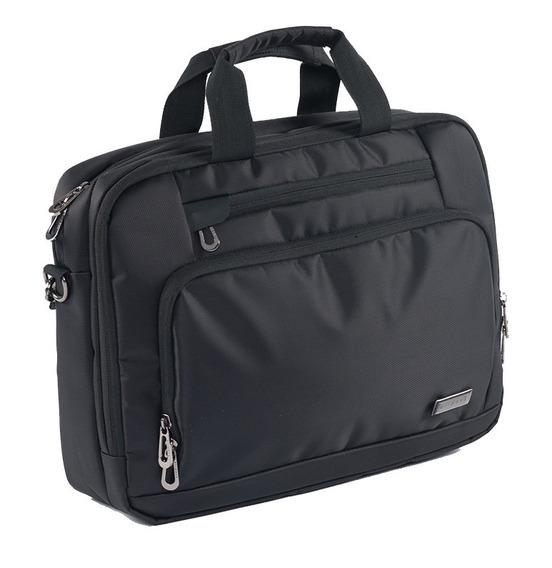 Maletín Ejecutiva Airpack Negra Para Laptop De Hasta 15.5