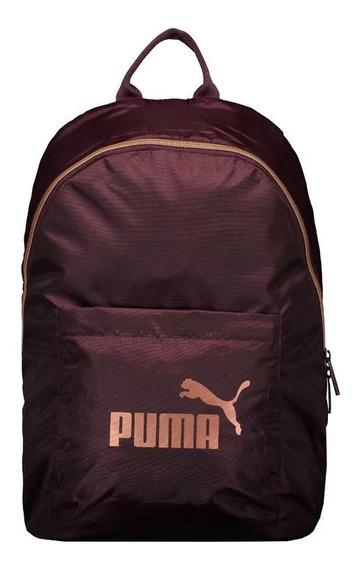 Mochila Puma Feminina Core Seasonal Rose Gold - 076573