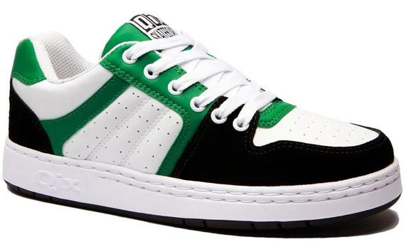 Tênis Qix Retro 80s Verde Branco Original Envio Imediato