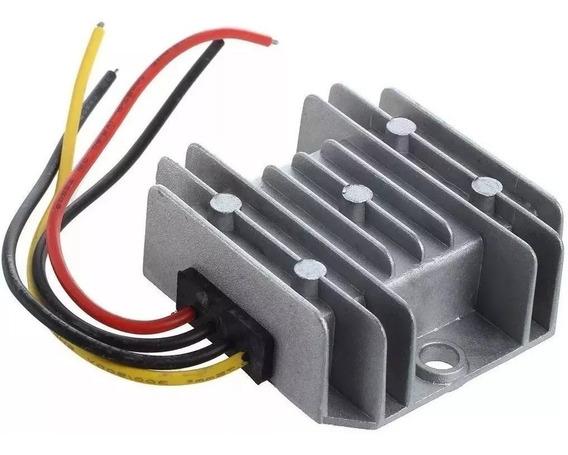 Regulador Redutor Voltagem Dc 24v Pra 12v 10a 120w