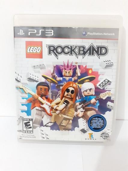 Lego Rock Band Ps3 Original Mídia Física