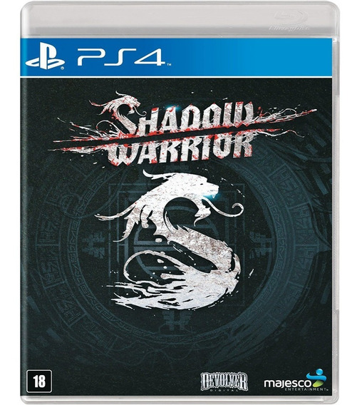 Shadow Warrior Ps4 Mídia Física Novo Lacrado