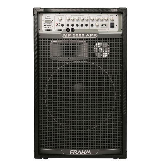 Caixa Amplificada Mp5000app Usb/bluetooth 500w 15 Pol Frahm